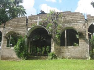 Sta. Cruz Chapel of Kauswagan, Circa 2012