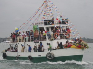 Fluvial Procession: View from the Twinkle Star Ship