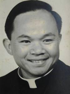 Fr. Uy's Vintage Photo (Photo Credit: SVD DWST Isko)