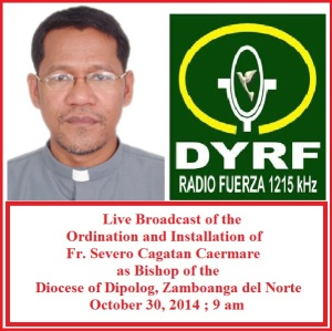 Live Streaming is Brought to You By DYRF, the Official Radio Station of the International Eucharistic Congress 2016