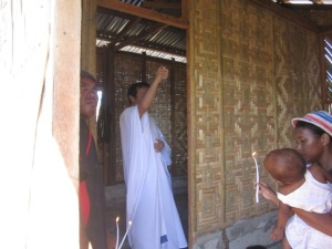 House Blessing in Bantayan Island, Cebu