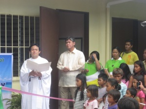 School Building Turn-Over / Blessing in Bantayan Island