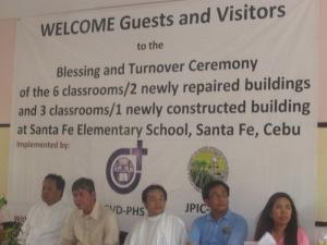 School Turn-over Ceremony