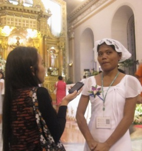 Merlyn Interviewed by Melissa Cabahug of the Cebu Dailyn News