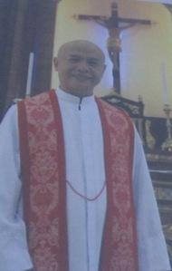 """IKADUHANG PULONG: """"Sultihan ko ikaw, karong adlawa, uban ka kanako sa paraiso."""" Fr. Rolyn E. Vics, CM Parish Priest, San Roque Parish Subangdaku, Mandaue City"""