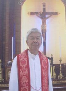 """IKAPITO NGA PULONG: """"Amahan sa imong mga kamot, itugyan ko ang akong espiritu."""" Fr. Vicente C. Florido Jr. Founding Member Our Lady of the Sacred Heart Scholarship Fund, Inc"""