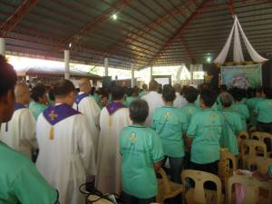 Holy Mass Attended by 3,000 members from around Visayas Region
