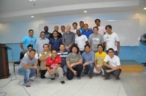 Junior SVDs with Fr. Heinz, SVD Superior General