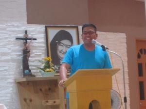 Fr. John Cruz, SVD shares about his missionary activities in Mabuhay, Zamboanga Sibugay.