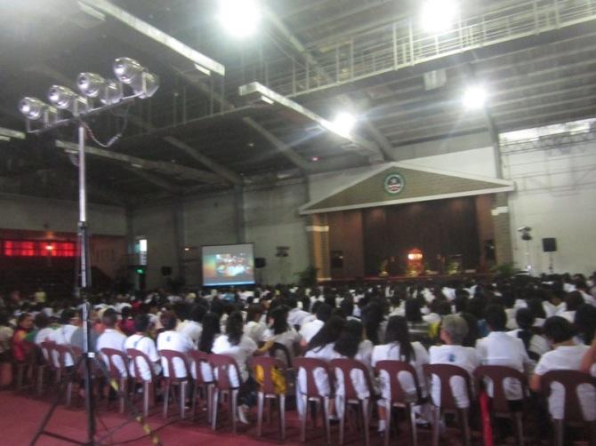 Venue: Dela Salle Dasma Gym