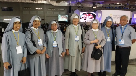 The Pink Sisters were present at the IEC! I talked to Sr. Mary Ligaya, SSpSap, and she said they received the permission from their Mother General.