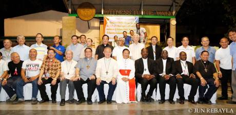 "When Charles Cardinal Maung Bo of Myanmar was invited for an intimate dinner away from the eyes of the media, we never missed the opportunity for a souvenir photo with him. In his speech, he revealed that he invited the SVDs to establish a mission area in Myanmar. He asked us to ""hurry up"" the process. :)"