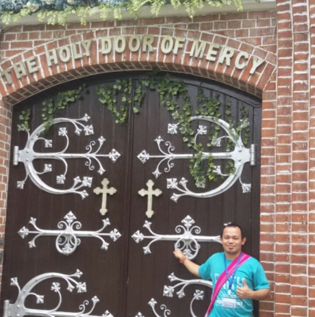 Door of Mercy at the Cathedral of Yangon