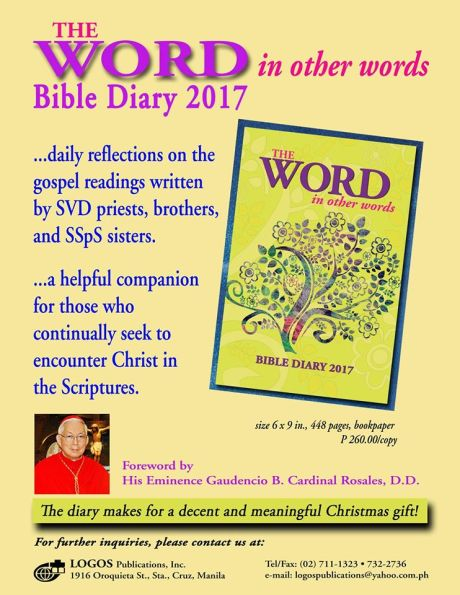 The SVD Bible Diary 2017
