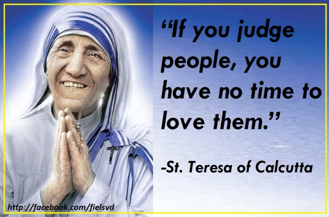 Mother Teresa of Calcutta Quotes | Felmar\'s Missionary Journey