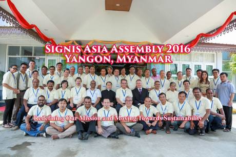 The participants of Signis Asia 2016