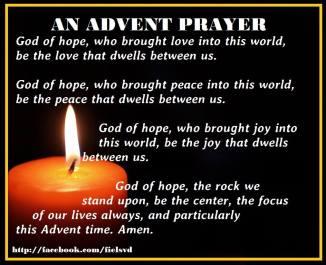 An Advent Prayer