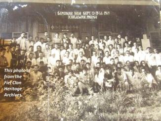 Immaculate Conception Parish of Kiblawan, Circa 1969
