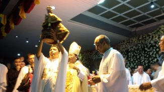 """The theme for the feast this year is """"Sto. Niňo: Source of Communion, Protector of Creation."""" This theme comes from two main sources: First, the current Archdiocesan/CBCP thrust set for 2021 celebration: 2017 is dedicated to the Year of the Parish: Communion of Communities and the basic Augustinian Spirituality on Community Life. Second, the papal enclical Laudato Si' of Pope Francis."""