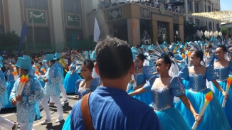 8. Organizers of the grand parade on January 15 have chosen a route that's two kilometers shorter because they want the parade to end early, and be more orderly.