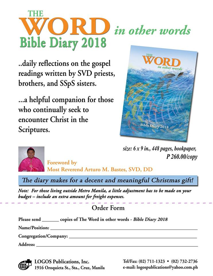 The Word in other Words 2018 | Felmar's Missionary Journey